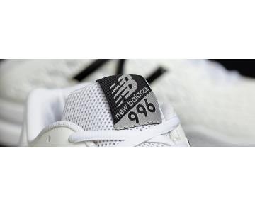 New balance chaussures pour hommes 996v2 tennis blanc et noir MC996-426