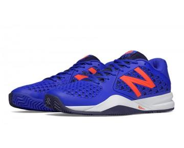 New balance chaussures pour hommes 996v2 tennis bleu et orange MC996-428