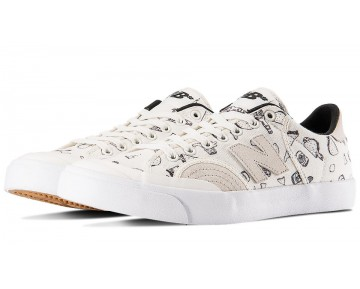 New balance chaussures unisex pro court 212 lifestyle cloud blanc et print NM212-205