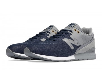 New balance chaussures pour hommes reengineered 996 casual marine et steel MRL996-439