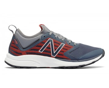 New balance chaussures pour hommes vazee quick entraînement thunder et alpha orange et gunmetal MXQIK-451