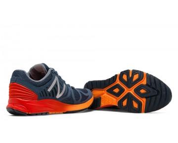 New balance chaussures pour hommes vazee rush course bleu sapphire et lava et fireball MRUSH-453