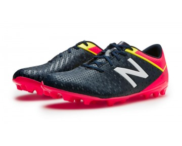 New balance chaussures pour hommes visaro control ag football brillant cerise et galaxy et firefly MSVRCA-466