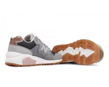 New balance chaussures pour femmes 580 nb casual gunmetal et argent vison WRT580-049