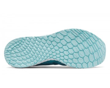 New balance chaussures pour femmes fresh foam zante course vivid ozone bleu et blanc WZANT-094