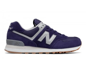 New balance chaussures unisex 574 lifestyle bleu et gris ML574-044