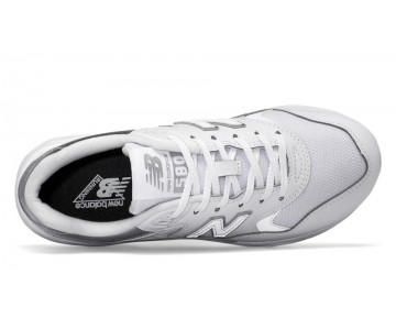 New balance chaussures pour femmes 580 classic blanc et metallic argent WRT580-051