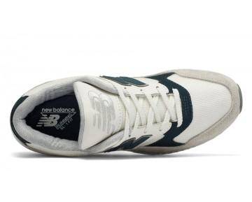New balance chaussures pour femmes 530 suede lifestyle blanc et vert W530-034