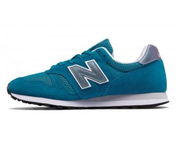 New balance chaussures pour femmes 373 suede lifestyle noir et rose WL373-012