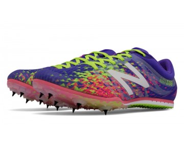 New balance chaussures pour femmes md500v5 spike course violet et firefly et guava WMD500-098