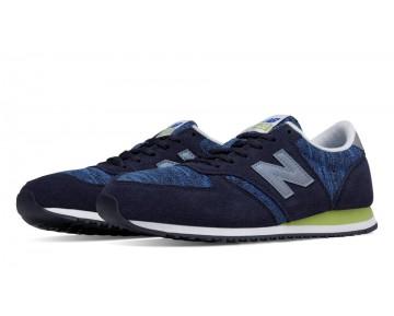 New balance chaussures pour femmes 420 70s running noir bleu et aurora rouge WL420-016