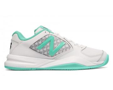 New balance chaussures pour femmes 696v2 tennis teal et blanc WC696-127