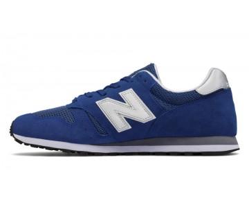 New balance chaussures unisex 373 modern classics casual bleu et argent ML373-020