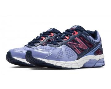 New balance chaussures pour femmes 670v1 course ice violet et brillant cerise et lead W670-122