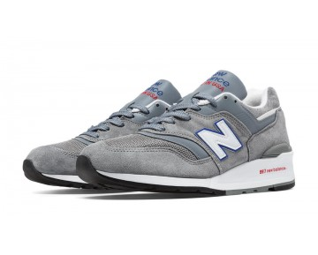 New balance chaussures pour hommes 997 lifestyle gris et bleu bell M997-088