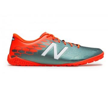 New balance chaussures pour hommes visaro 2.0 control tf football tornado et alpha orange MSVRCT-241