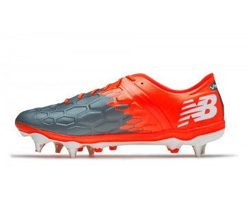 New balance chaussures pour hommes visaro 2.0 pro sg football typhoon et tornado et alpha orange MSVROS-249