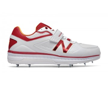 New balance chaussures pour hommes 4040v3 cricket rouge CK4040R3-162