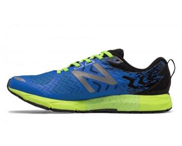 New balance chaussures pour hommes 1500v3 running electric bleu et lime glo et noir M1500-155