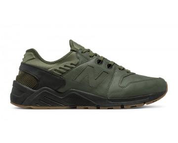 New balance chaussures pour hommes 009 casual foncé olive et noir ML009-001