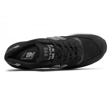 New balance chaussures pour hommes 998 casual noir et gris M998-091
