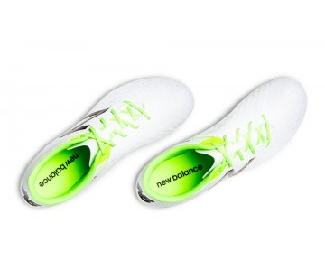 New balance chaussures pour hommes visaro control sg football blanc et toxic MSVRCS-253