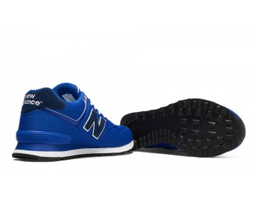 New balance chaussures unisex 574 pique polo pack casual bleu et marine ML574-045