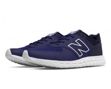 New balance chaussures pour hommes 574 fresh foam casual bleu et marine MFL574-044