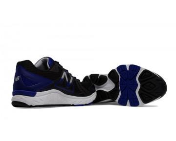 New balance chaussures pour hommes 670v5 running noir et bleu M670-175
