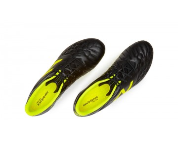New balance chaussures pour hommes visaro pro fg football noir et firefly MSVRKF-258