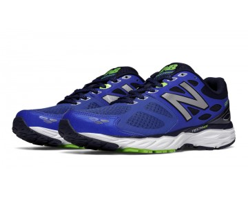 New balance chaussures pour hommes 680v3 running outerspace et classic rouge M680-176