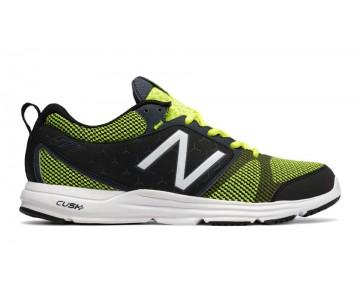 New balance chaussures pour hommes 577 cross gris et jaune MX577-056