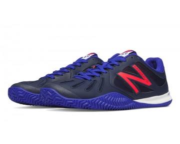 New balance chaussures pour hommes 60 tennis marine bleu et brillant cerise MC60-167