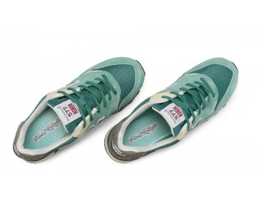 New balance chaussures pour hommes 577 classic sea glass et le riz blanc et lumière gris M577-053