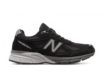 New balance chaussures pour hommes 990v4 running noir et argent M990-200