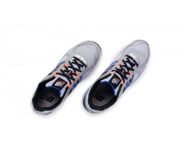 New balance chaussures pour hommes 670v1 course argent et orange et bleu M670-174