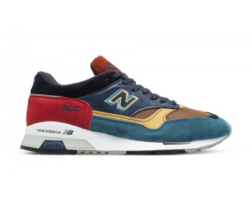 New balance chaussures pour hommes 1500 lifestyle teal et marine et rouge M1500-010