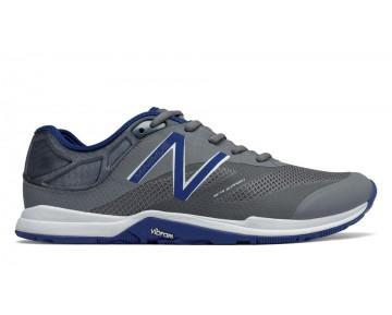 New balance chaussures pour hommes minimus 20v5 entraînement gris et bleu MX20-143
