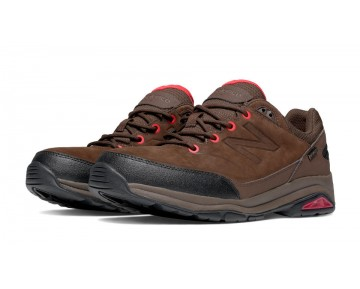 New balance chaussures pour hommes 1300 marche marron et rouge MW1300-151