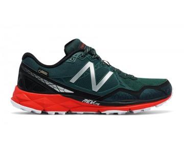 New balance chaussures pour hommes 910v3 running foncé vert et rouge et noir MT910-071