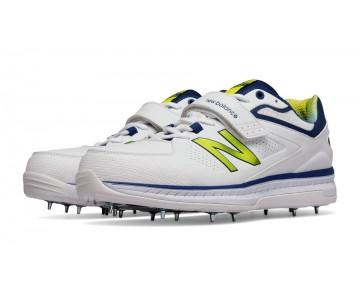 New balance chaussures pour hommes 4040v3 cricket blanc et atlantic et aurora rouge CK4040-163