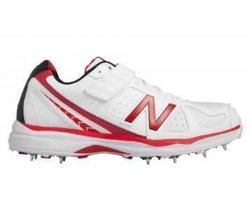 New balance chaussures pour hommes 4040v2 cricket blanc et rouge CK4040-161