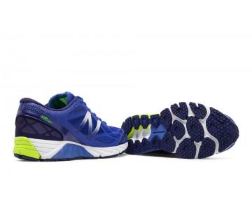 New balance chaussures pour hommes 870v4 course bleu et lime jaune M870-192