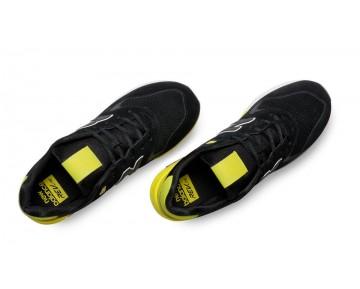New balance chaussures pour hommes 580 elite edition lifestyle noir et jaune MRT580-060