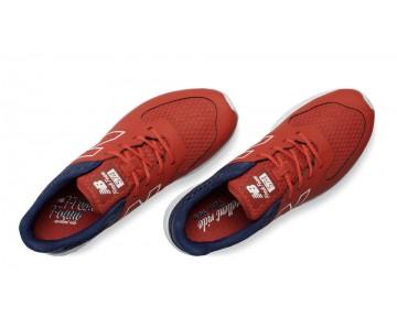 New balance chaussures pour hommes fresh foam 574v2 rouge et marine MFL574-108
